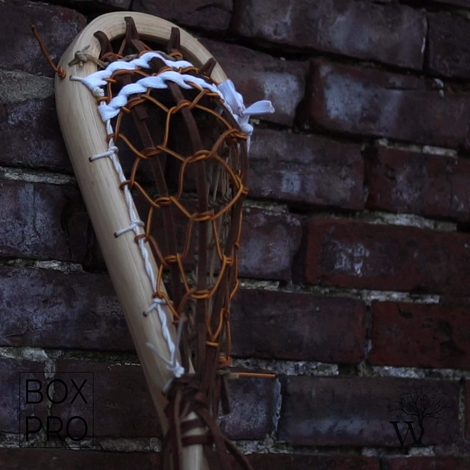 Wooden Lacrosse Stick Boot Lace BOX PRO by Justin Skaggs