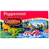 Celestial Seasonings Peppermint Tea Bags, 20 ct, 2 pk