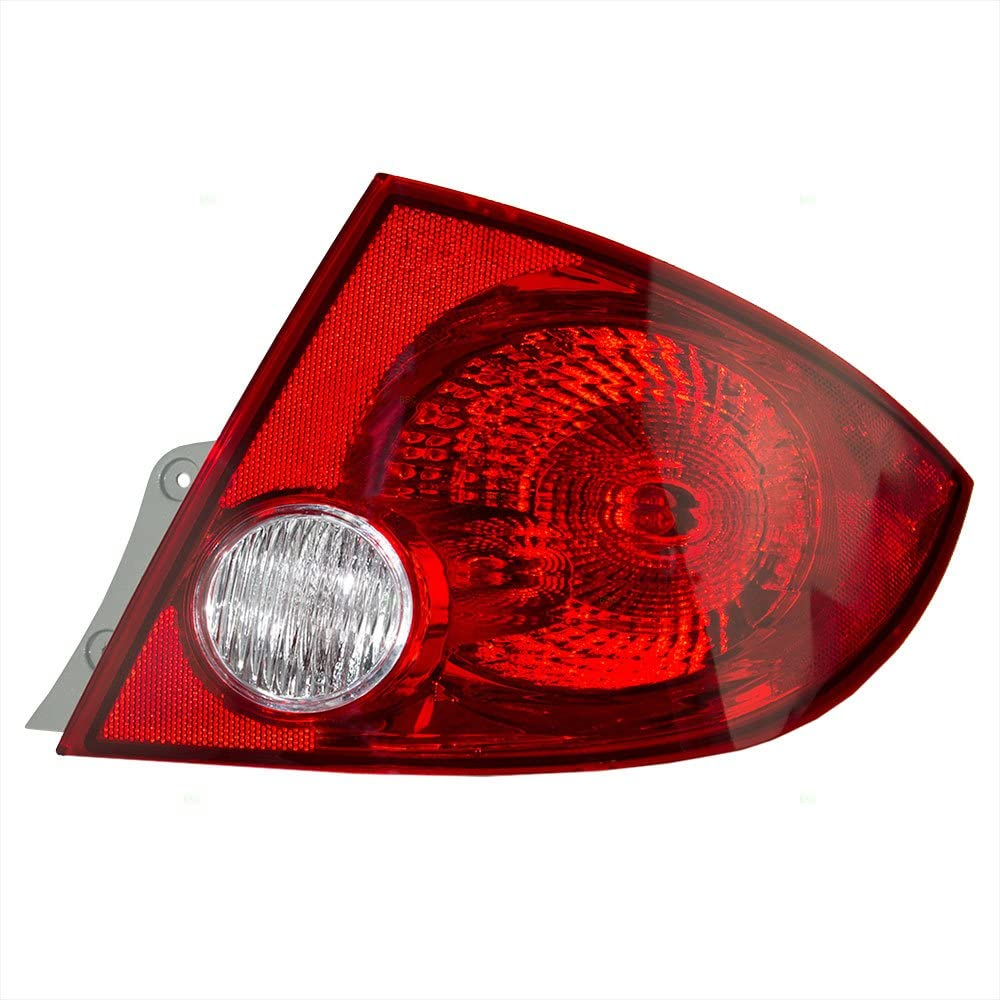 Passengers Taillight Tail Lamp Replacement for Dodge 5182522AG