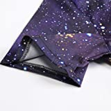 3076e9bdc5db Mens Male Galaxy Nebula Space Printed Hipster Novelty Shorts Cargo Pants  Tees Clothes Jumpsuits Rompers Overalls XL