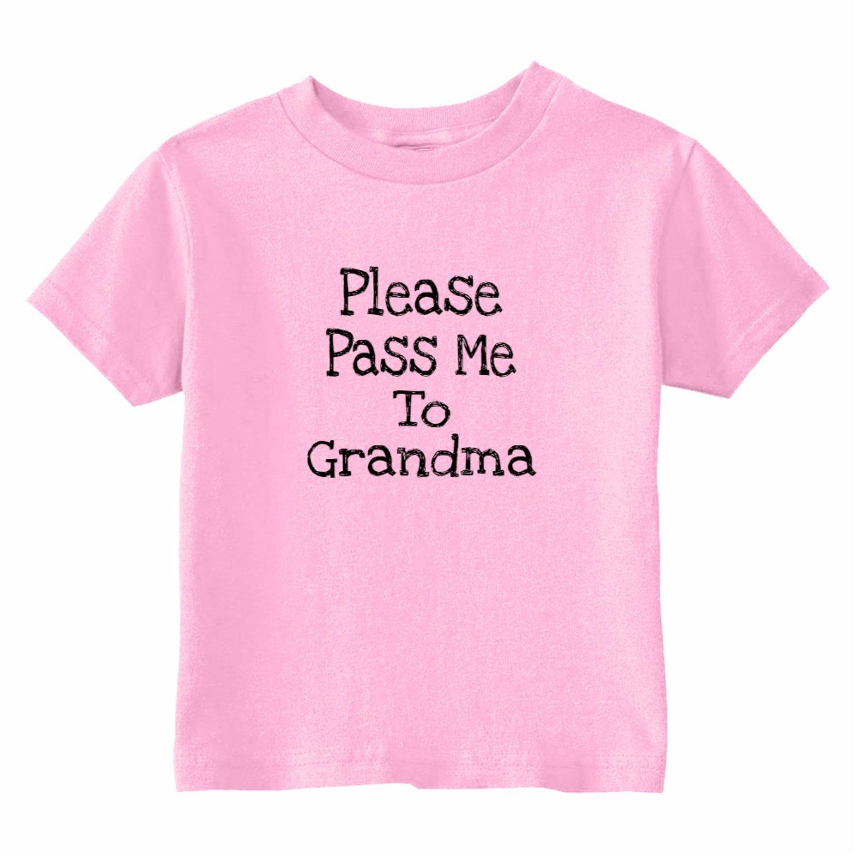 U.S Custom Kids Pass Me to Grandma Toddler T-Shirt