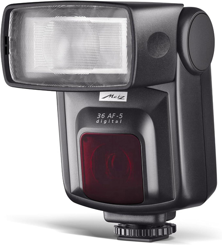 Metz Mecablitz 36 AF-5 Digital - Flash con Zapata para Pentax/Samsung, Negro