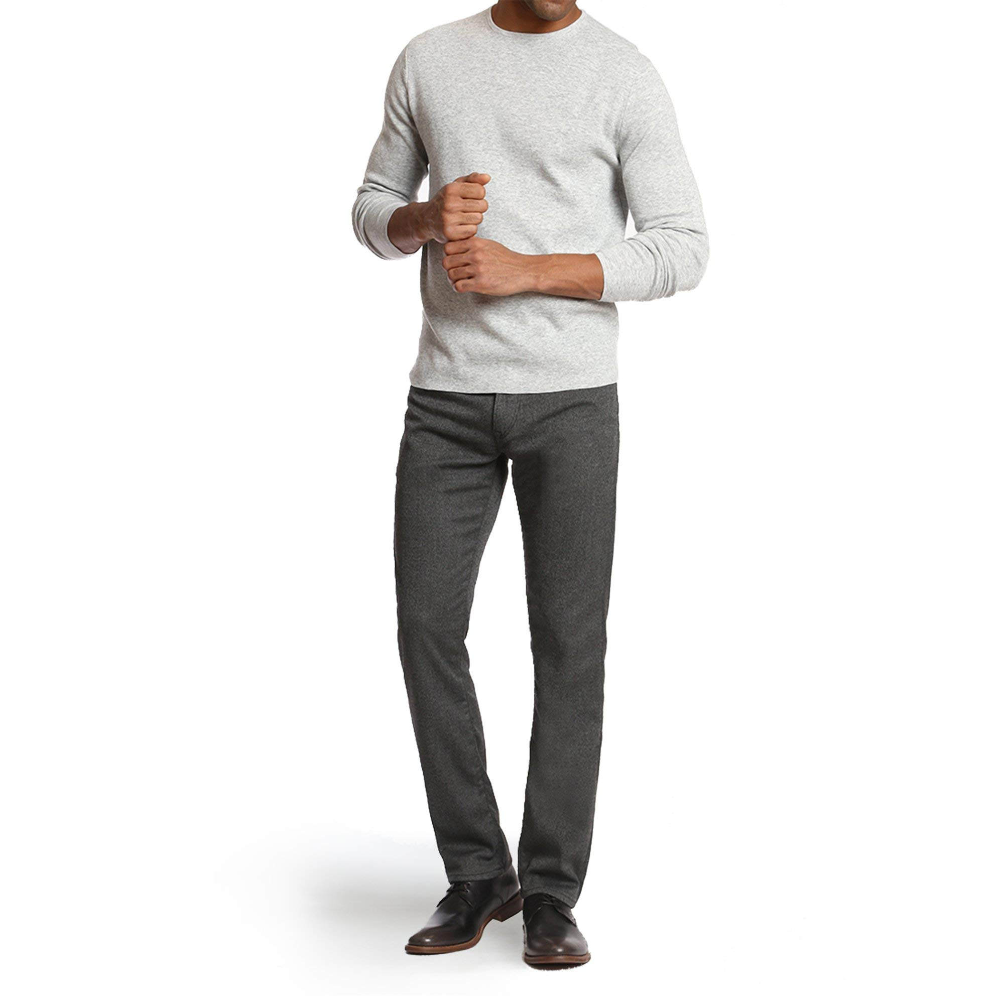 34 Heritage Men's Charisma Relaxed Classic Pants, Grey Feather Tweed 34 x 34 by 34 Heritage (Image #2)