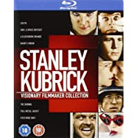 The Stanley Kubrick Collection  (8 Blu-Ray) [Edizione: Regno Unito] [Reino Unido] [Blu-ray]