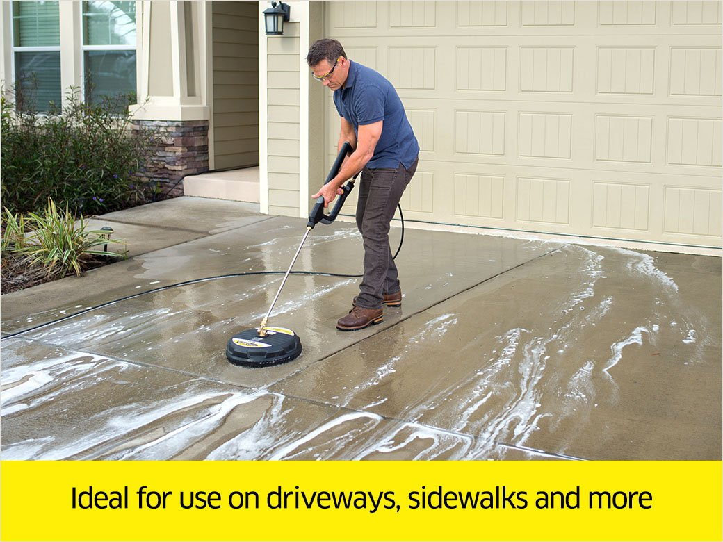 Karcher 15-Inch Pressure Washer Surface Cleaner Attachment, 3200 PSI Rating by Karcher (Image #2)
