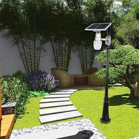 HWDJ002 Jardín al Aire Libre \ 6W / 9W / 12W / 15W luz de Calle Solar integrada Exterior melocotón Apple LED luz de jardín Pared Moda Impermeable Control de luz, B,A: