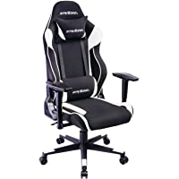 GTRACING High Back Gaming Chair Fabric And PU Racing Chair Backrest And Height Adjustable E-sports Chair Ergonomic Computer Office Chair Furniture