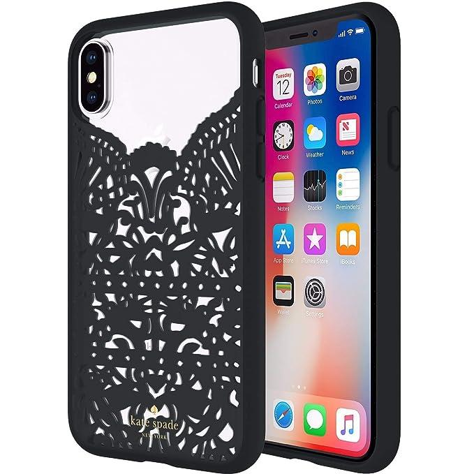 best authentic 1c2be c1763 Amazon.com: Incipio Apple iPhone X Kate Spade New York Lace Cage ...