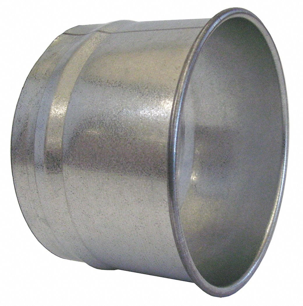 Nordfab 3282-0400-100000 QF Hose Adapter, 4'', Galvanized Steel