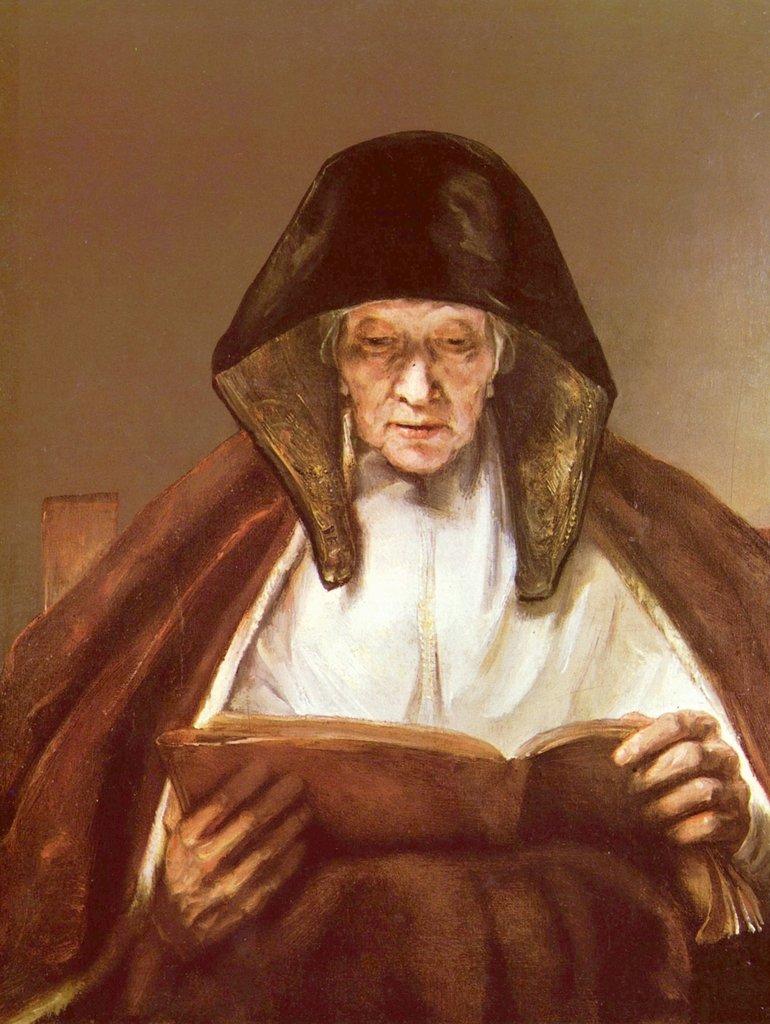 Lais Puzzle Rembrandt Harmensz. van Rijn - Alte Frau, lesend 2000 Teile