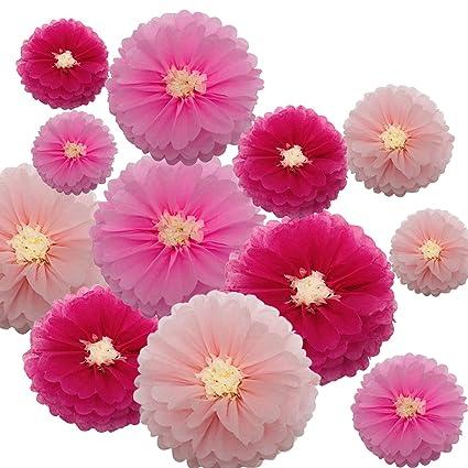Amazon.com: Papel de boda rosa con fondo de flores para ...