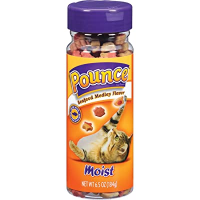 Pounce Moist Cat Treats Seafood Medley