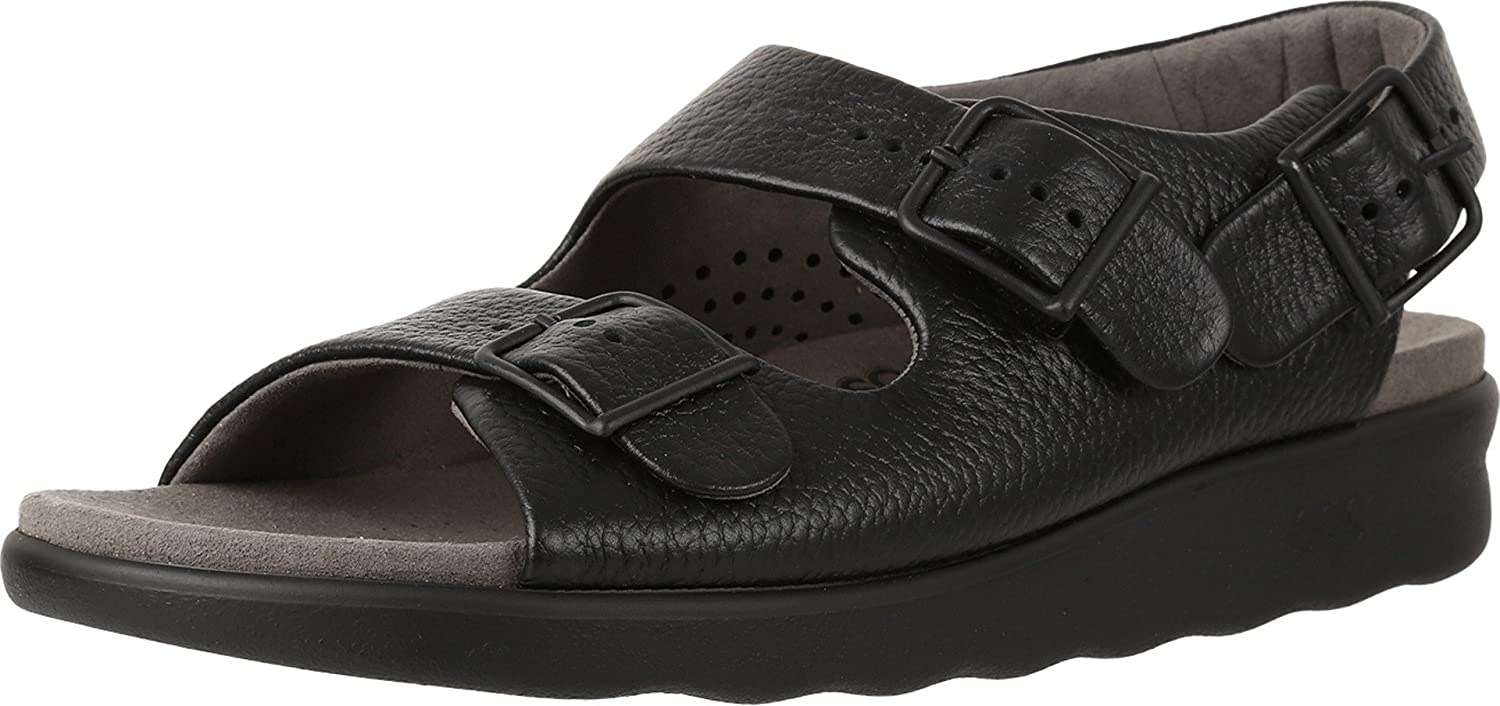 SAS Womens Relaxed Leather Open Toe
