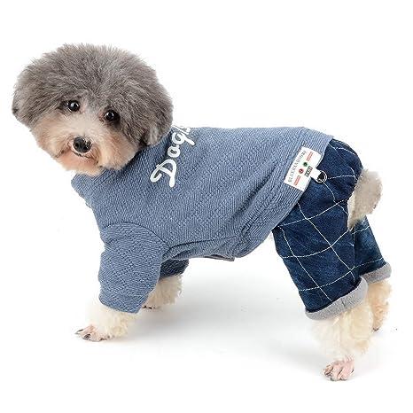 Zunea - Traje de chándal para Perro pequeño, para Invierno, cálido, Ropa para