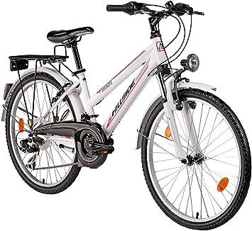 Bicicleta para niña, 24 pulgadas Hillside Miami en color blanco ...