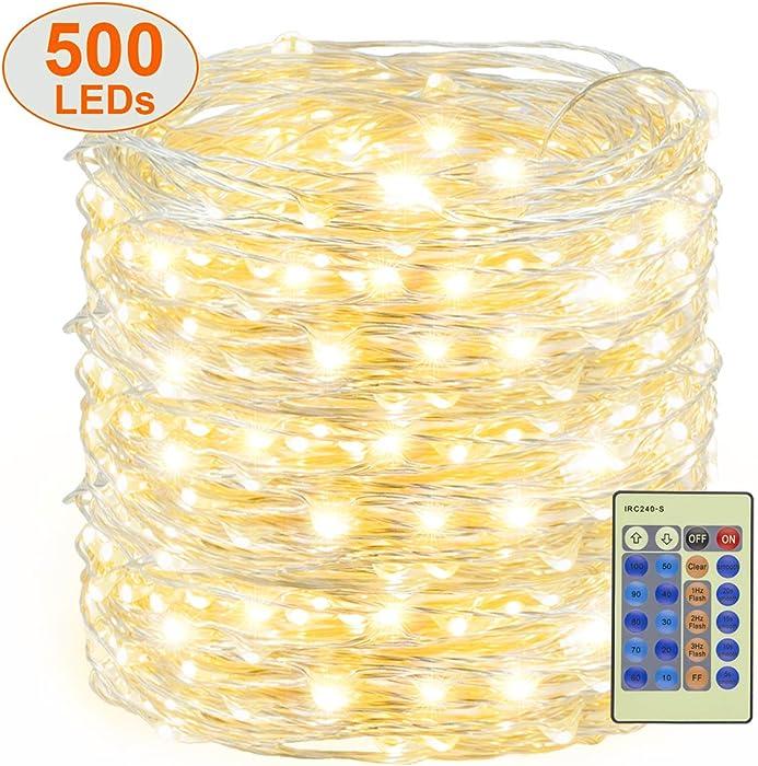 Top 10 White Garden Lights Silver Wire