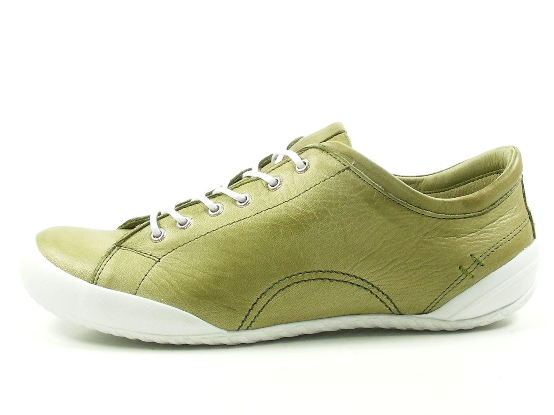 Andrea Conti 0340559 Zapatos de Cuero Para Mujer 42 EU|Verde