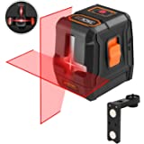 Laser Level self leveling Horizontal/Vertical Line and Cross-Line,50Ft with Stable Dual Modules, Pulse Mode, Magnetic…