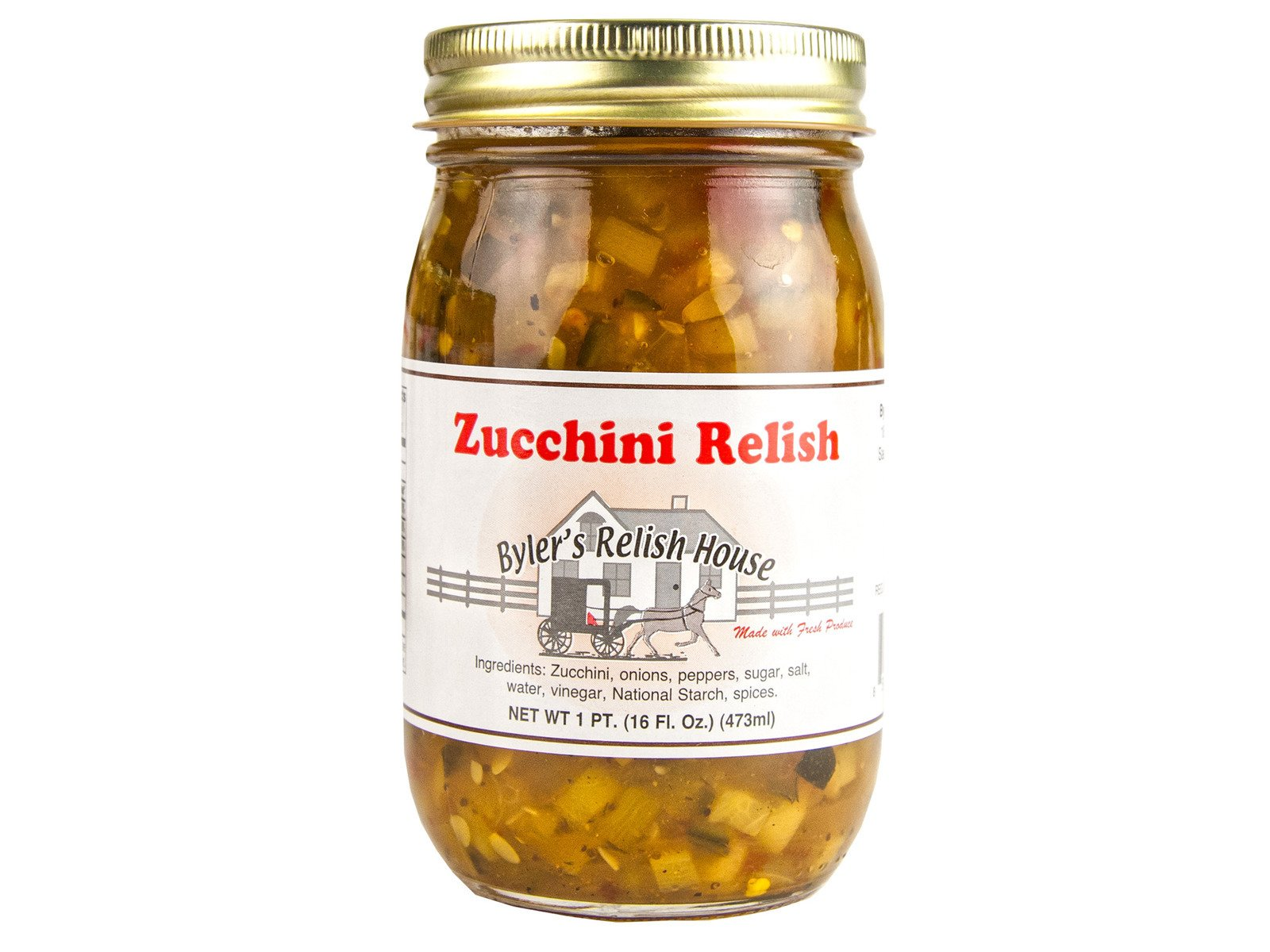 Byler's Zucchini Relish - (Two Pack)