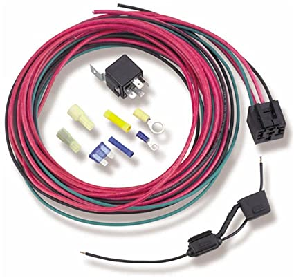 Swell Amazon Com Holley 12 753 30 Amp Fuel Pump Relay Kit Automotive Wiring Cloud Venetbieswglorg