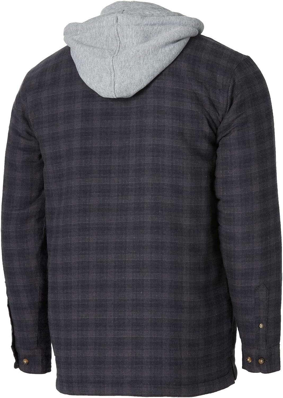 Wrangler Riggs Workwear Mens Hooded Flannel Work Jacket