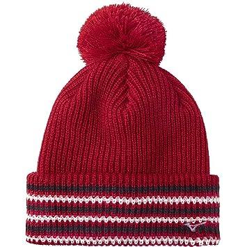 Mizuno Golf 2018 Mens Breath Thermo Bobble Sports Winter Golf Hat Tango Red  One Size 58f8ec143850