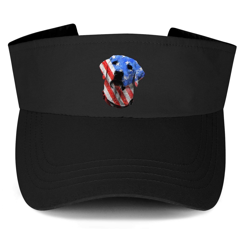 Top Level Mens//Womens Unique Sun Visor Cap Flying American Flag Adjustable Visors