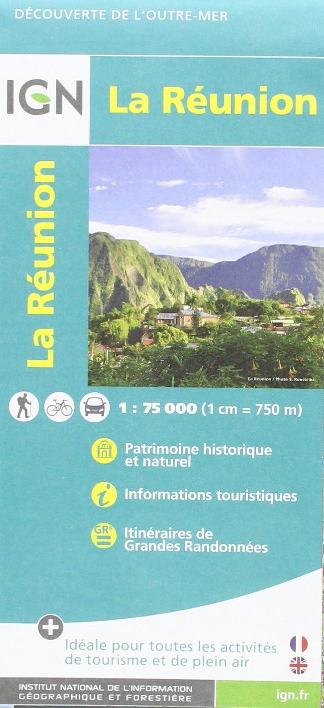 IGN La Réunion - Carte topographique