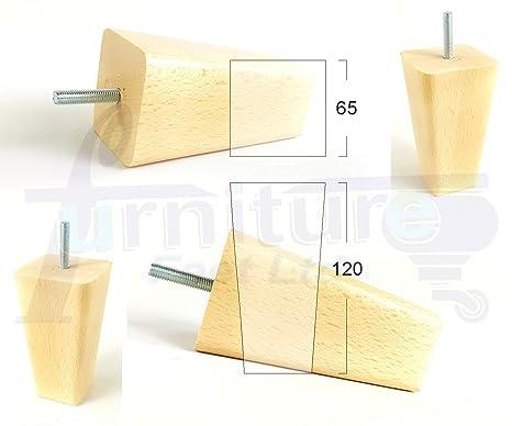 Knightsbrandnu u piedi di ricambio in legno per divani sedie