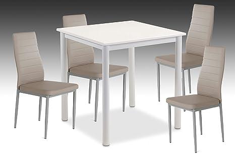 Anna con tavolo da pranzo, tavolo da salotto, sala da pranzo, colore ...
