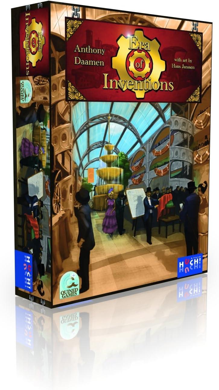 Huch & Friends 877239 Era of Inventions - Juego de Mesa sobre ...
