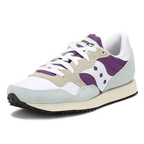 SAUCONY DXN TRAINER VINTAGE scarpe donna sneakers pelle camoscio tela sportive