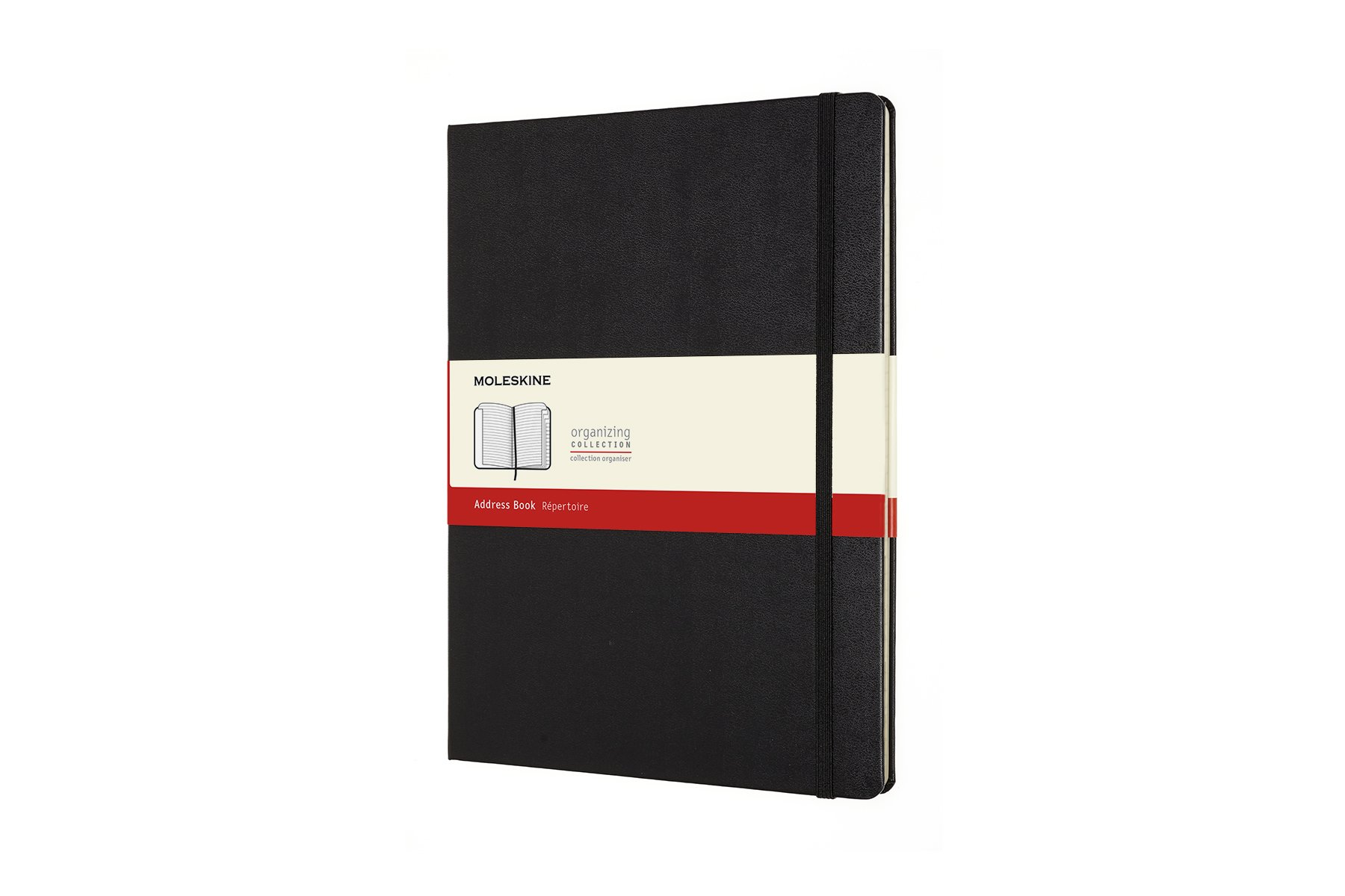 Moleskine Classic Hard Cover Address Book, XL (7.5 x 9.75)..