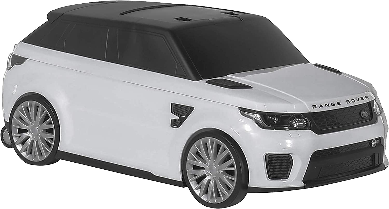 Range Rover SVR Kids Car with Toy Storage - Blue / Red / White