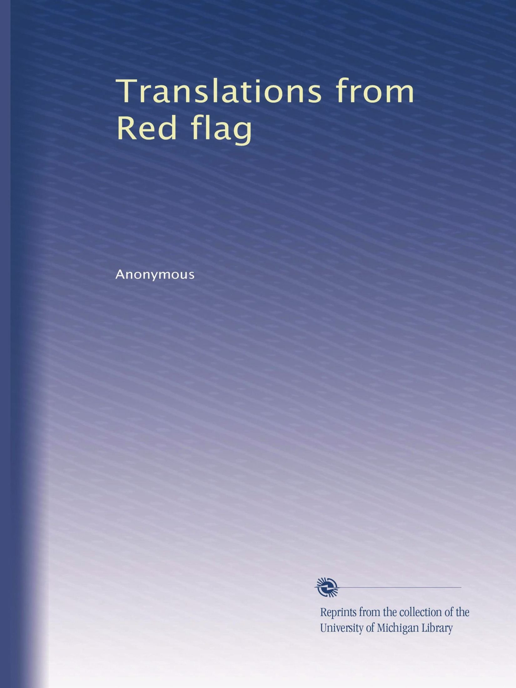 Download Translations from Red flag (Volume 5) pdf