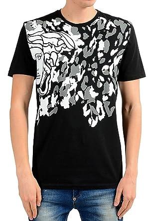 9301a3b95f4 Versace Collection Herren T-Shirt Medusa Logo: Amazon.de: Bekleidung
