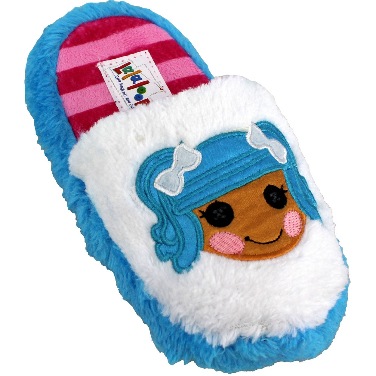 Amazon.com | Lalaloopsy Girls Scuff Slippers (Toddler/Little Kid ...