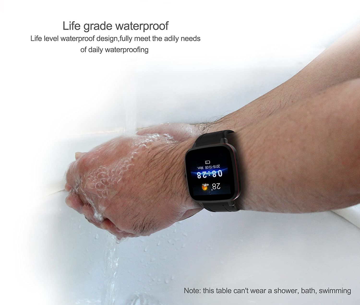 Amazon.com: Smartwatch,Bluetooth Smart Watch for All Android Cell Phone N8 1.54