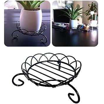 support de pot de fleurs pour extrieur pieds de plantes dintrieur en mtal pour