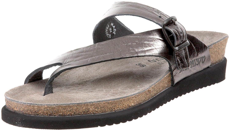 Grey Etna Mephisto Women's Helen Thong Sandal