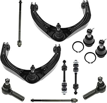 Control Arm Ball Joint Tie Rod Sway Bar Link Rack Boots for 06-08 Ram 1500 4WD