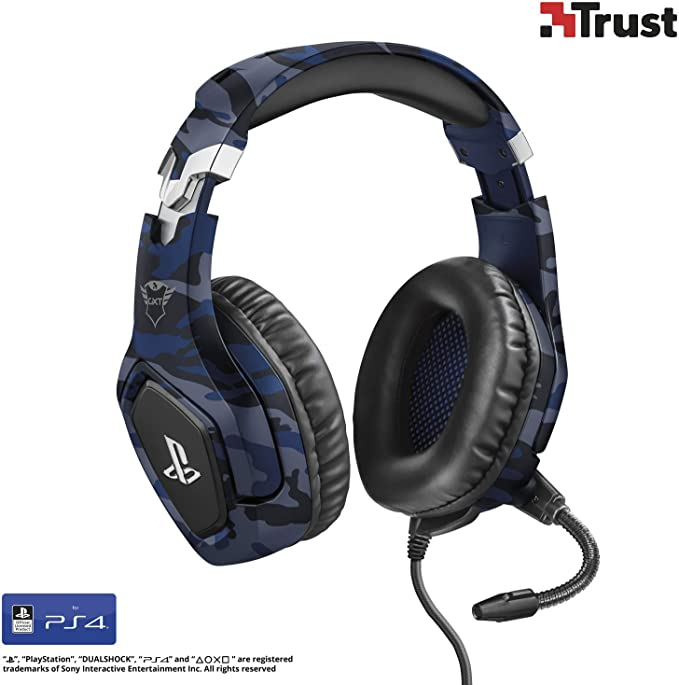 Trust Gaming GXT 488 Forze-B Auriculares de Gaming para PS4 ...