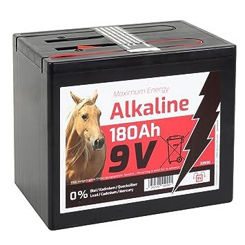 Weidezaunbatterie 9 V 170 Ah ALKALINE  Trockenbatterie Batterie Weidezaun