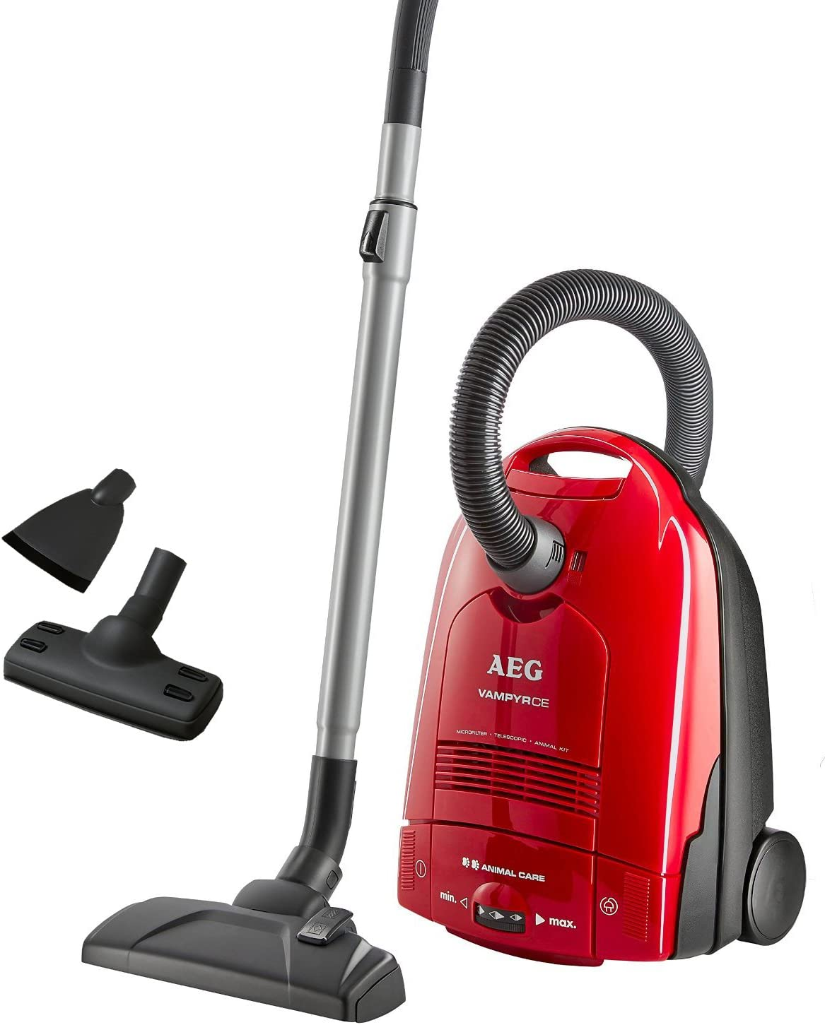 AEG 903151834 - Aspiradora de trineo, 1500 W, color rojo: Amazon ...