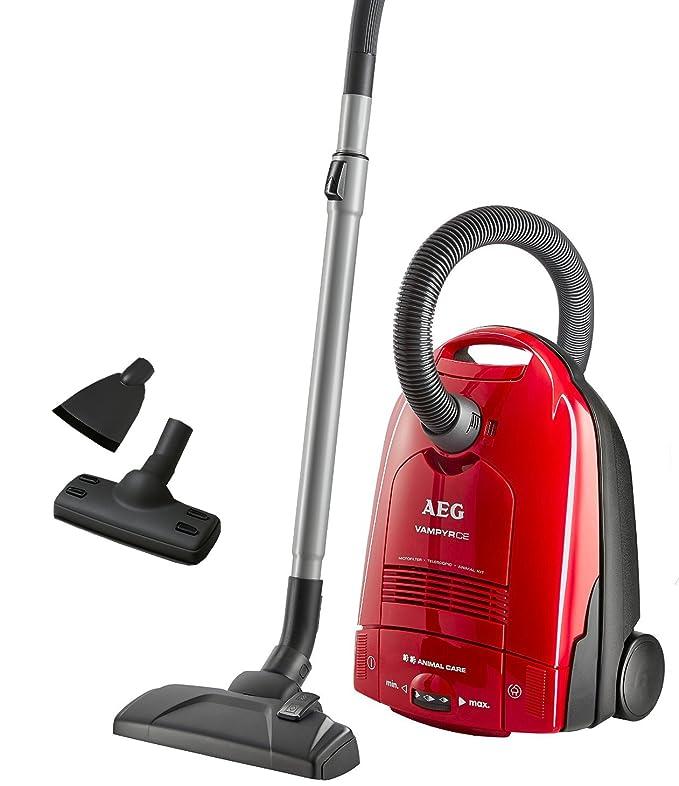 AEG 903151834 - Aspiradora de trineo, 1500 W, color rojo ...