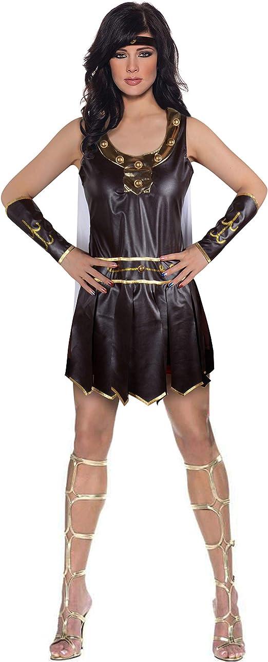 Brand New Medieval Warrior Queen Dress Princess Greek Goddess Adult Costume