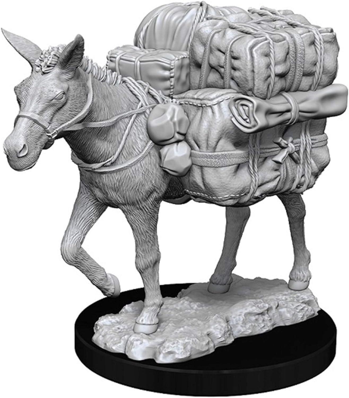 Dungeons & Dragons Wizkids: Deep Cuts Unpainted Miniatures: Pack Mule: Amazon.es: Juguetes y juegos