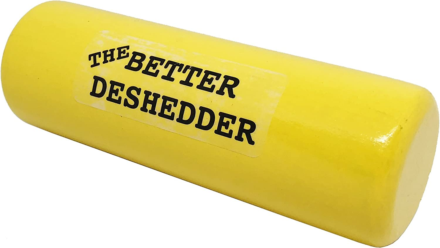 The Better Deshedder Twin Blade Dog Grooming Brush Reduces Shedding by 90/%!! Wood Grain