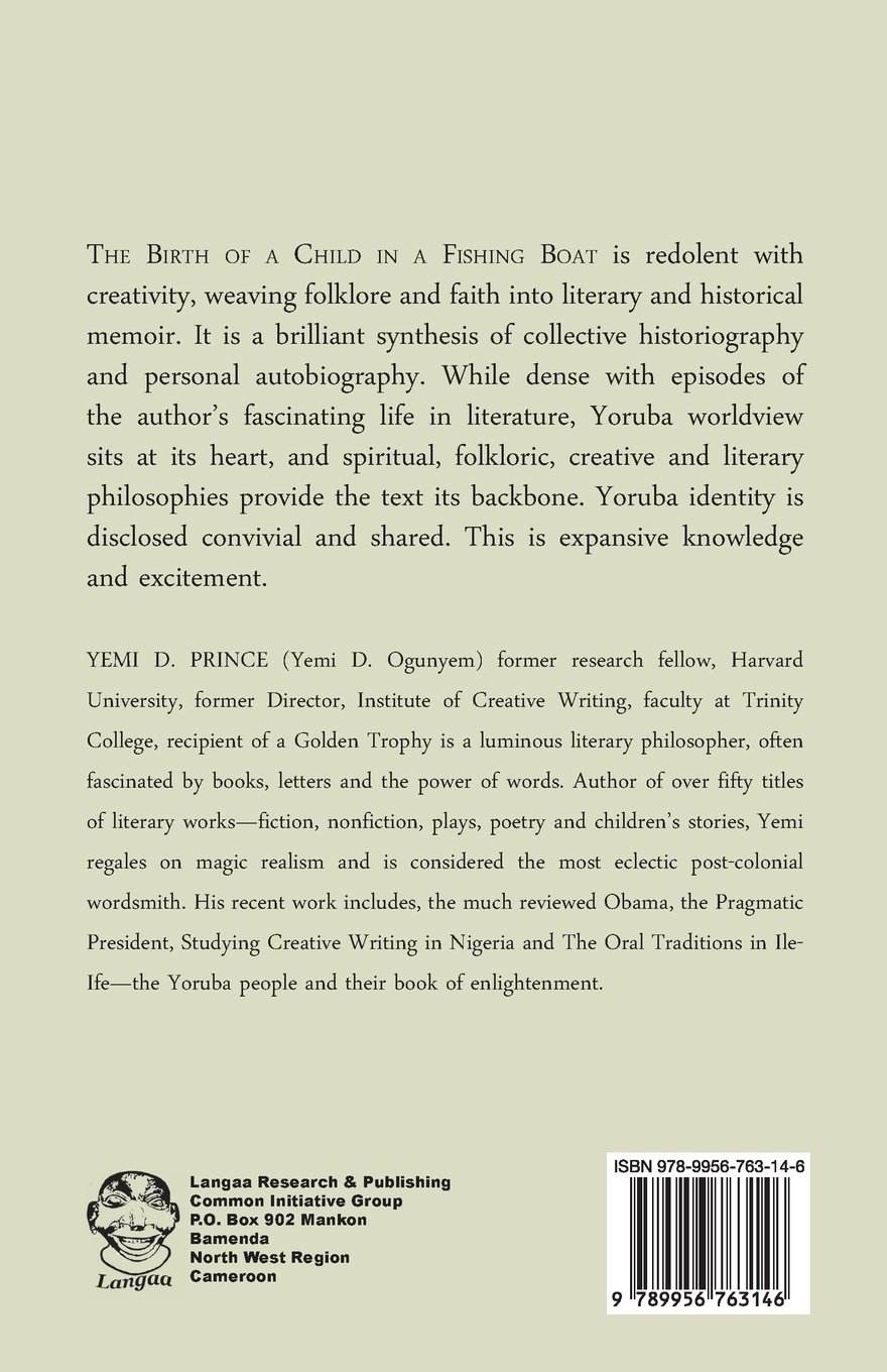 Amazon: The Birth Of A Child In A Fishing Boat (9789956763146): Yemi D  Prince: Books