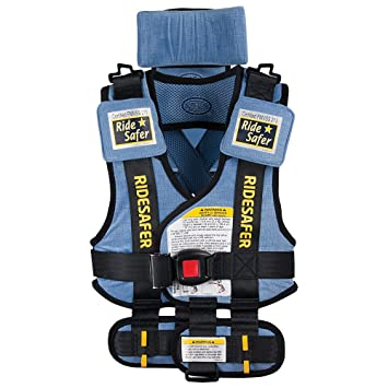 Safe Traffic System Travel Vest Type 2 Booster Seat Blue Small